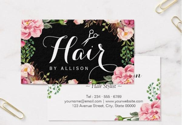 hair salon business card1