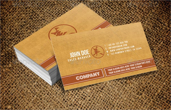 vintage business card template1