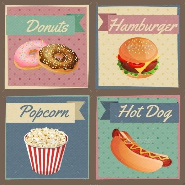 fast food menu card1