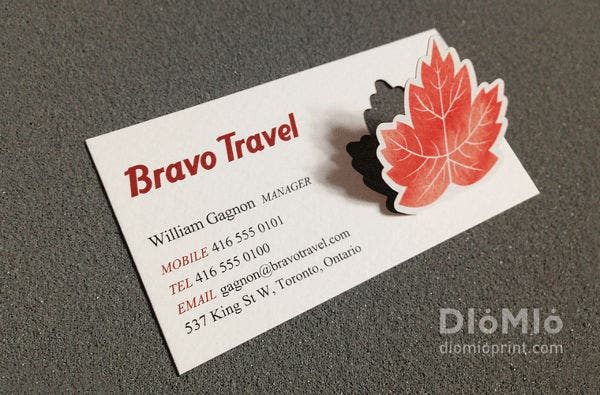 -Travel Agency Business Card