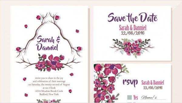 36 Wedding Card Design Templates Psd Ai Free Premium