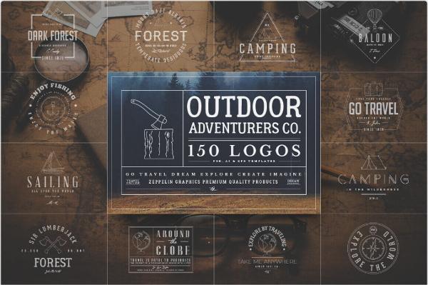 outdoor-adventurous-logo-bundle
