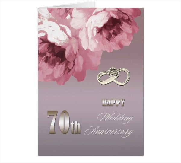 wedding anniversary card template1