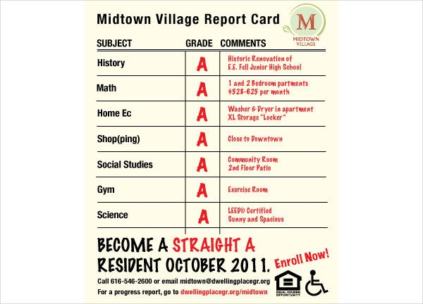 village-report-card