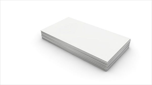 Free Blank Card Template