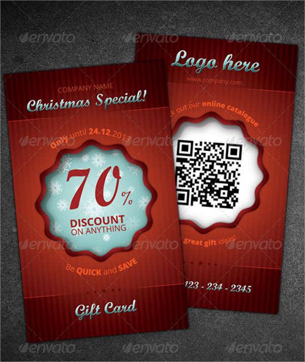 christmas bonus gift card