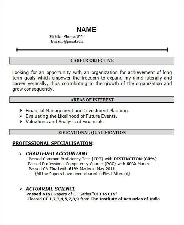 resume format doc for fresher bcom resume ixiplay free resume