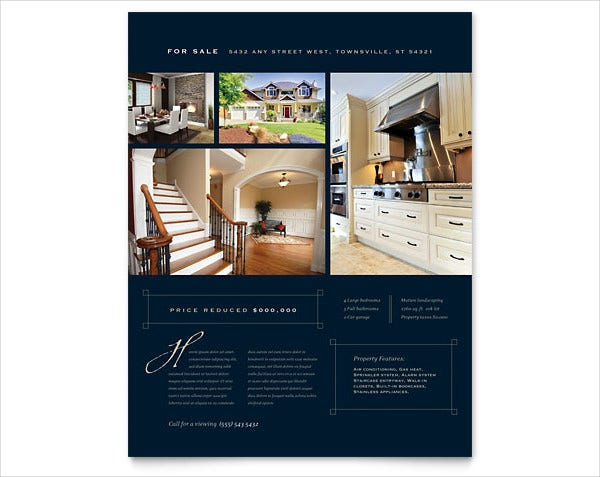 Luxury Real Estate Flyer