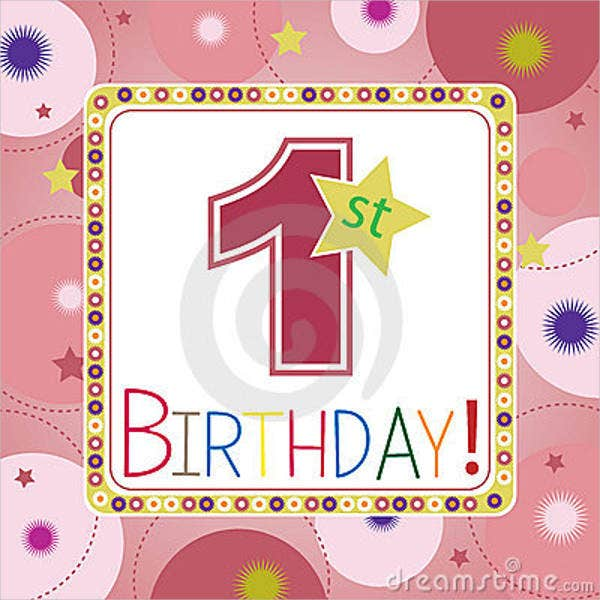 first birthday board template - 69 sample invitation cards free premium templates