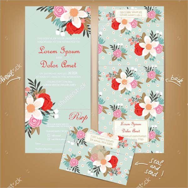 -Wedding Reception Gift Card