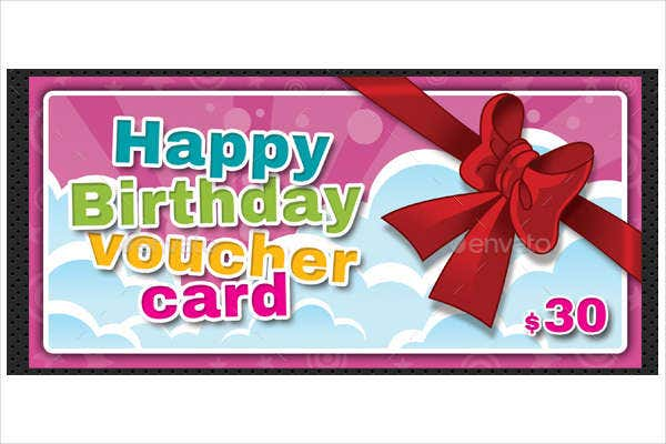 -Gift Voucher And Birthday Card
