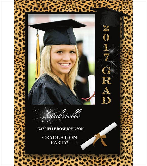 graduation ceremony invitation card2
