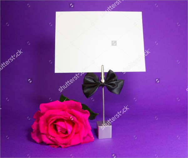-Flower Gift Card Holder