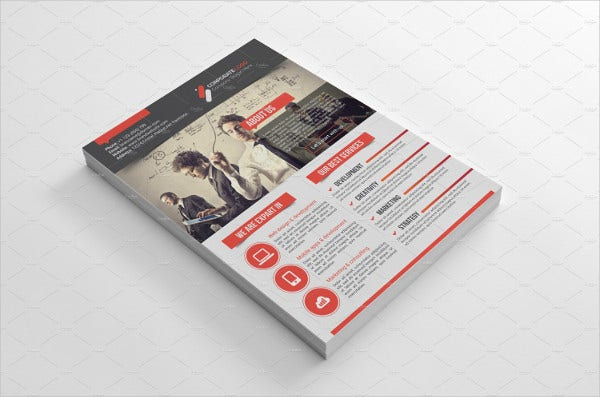 123456advertising agency flyer