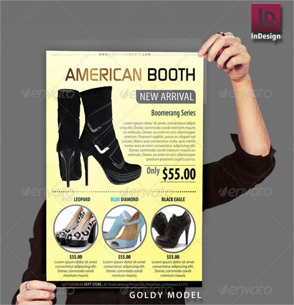 12advertising product flyer