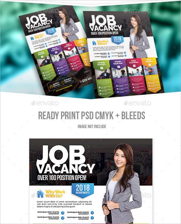 job advertisement flyer