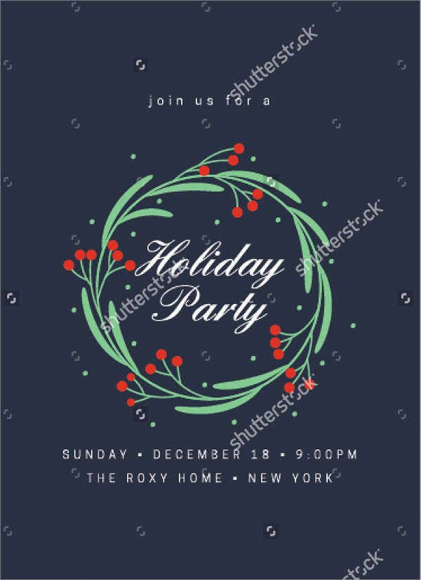 holiday party flyer1