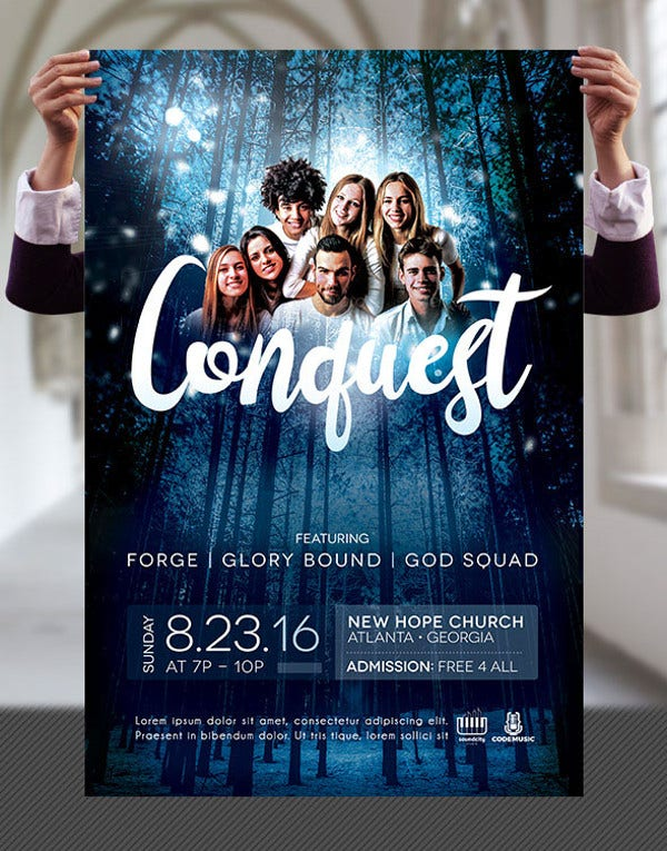 Church Concert Flyer