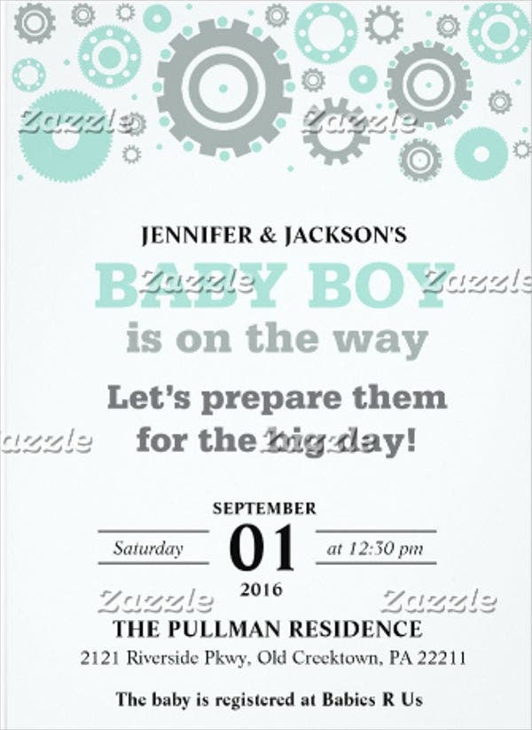 electronic-baby-shower-invitation-card