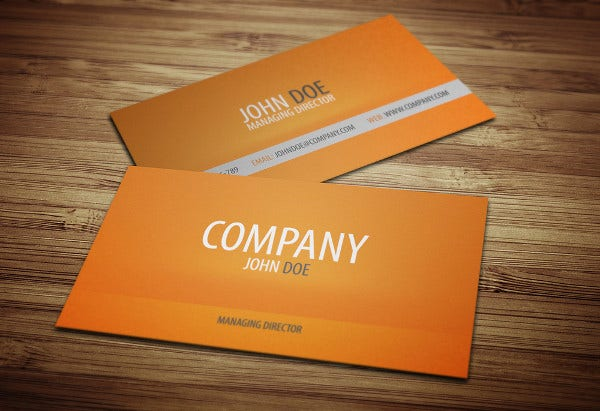 Printable business cards free premium templates luxury portfolio business card colourmoves Choice Image