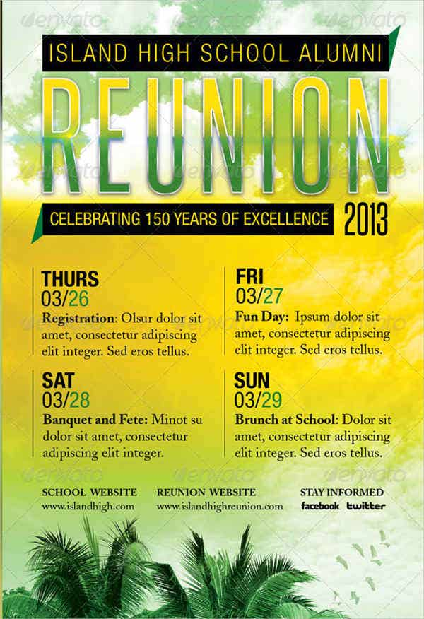 school reunion flyer1