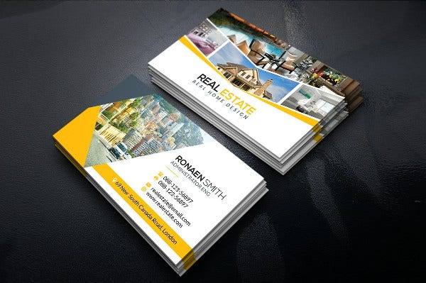 -Corporate Real Estate Business Card
