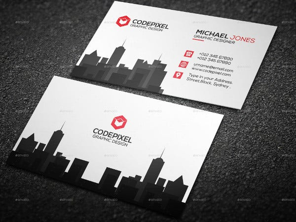 -Commercial Real Estate Business Card