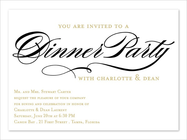 66 invitation card designs free premium templates business dinner invitation card stopboris Gallery