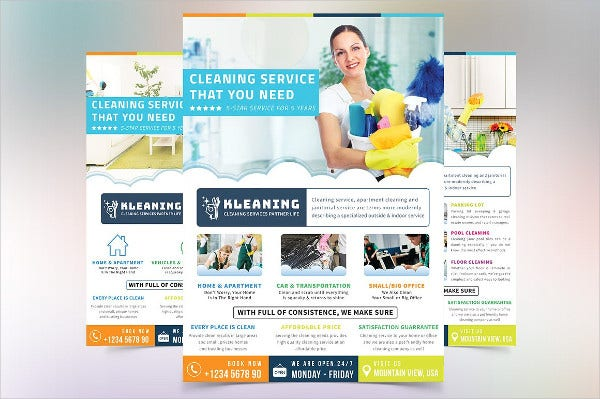 Cleaning Products Flyer