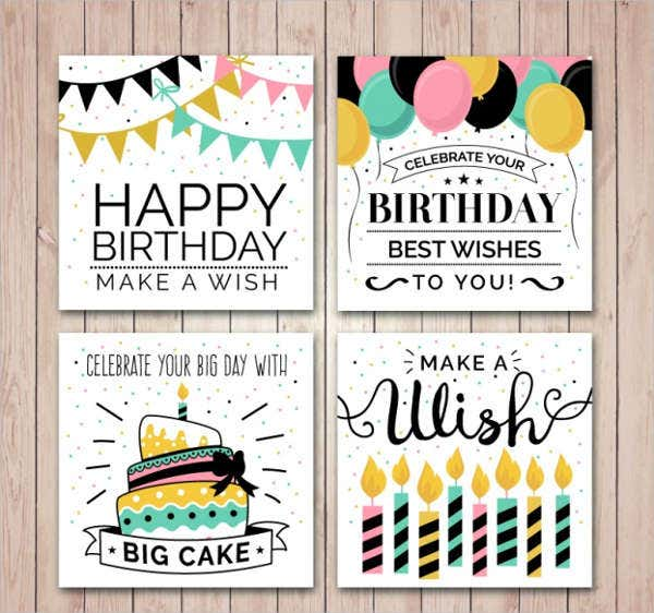 -Free Birthday Greeting Card
