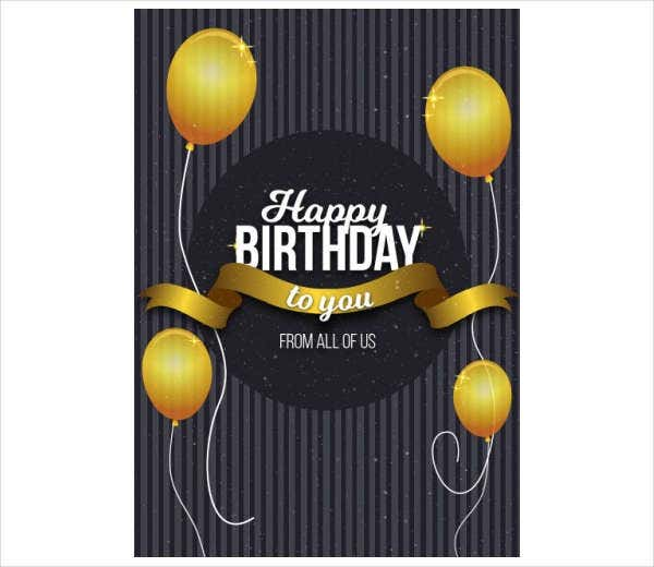 -Free Birthday Gift Card