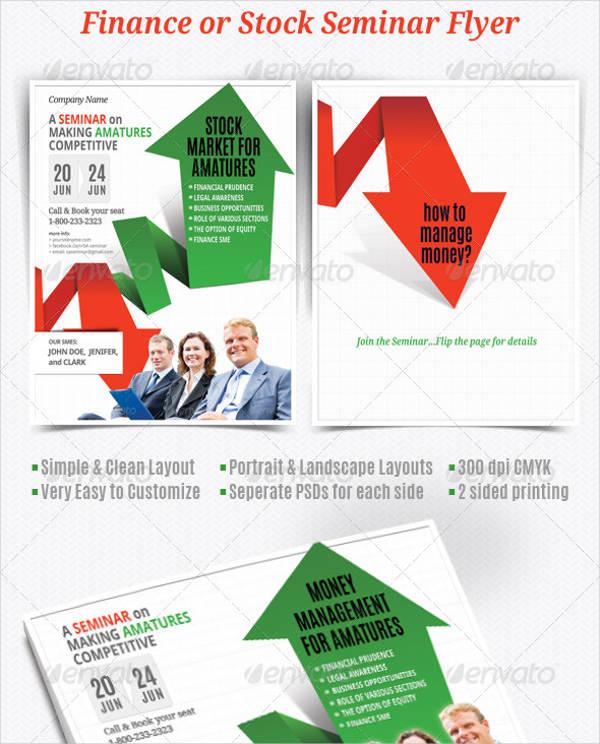 financial planning seminar flyer
