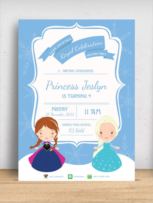 frozen-birthday-invitation-card