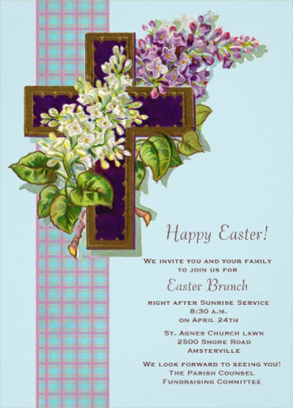 church-fundraising-invitation-card
