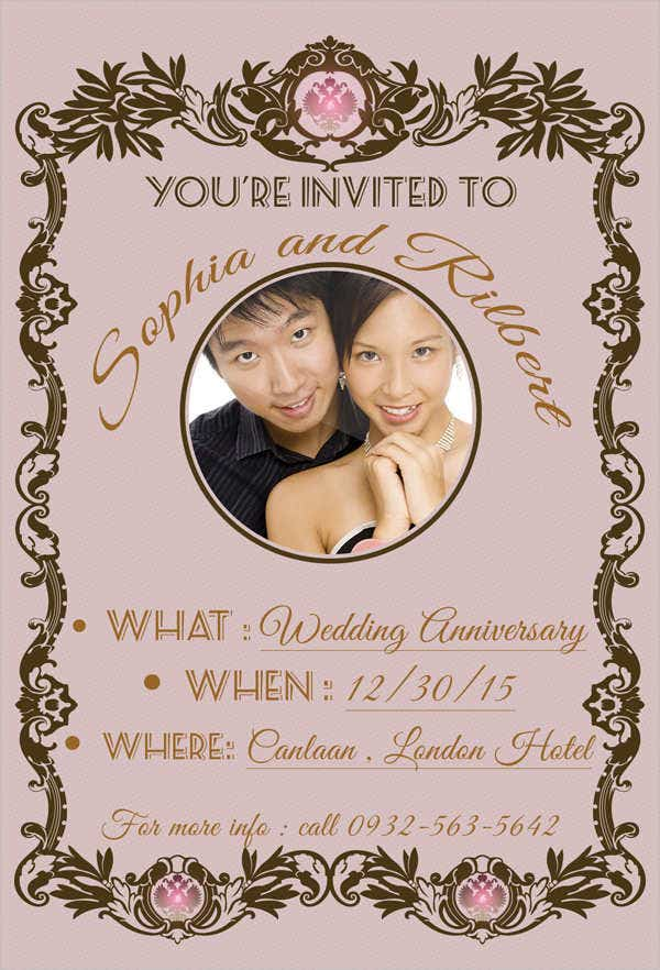 wedding-anniversary-invitation-card
