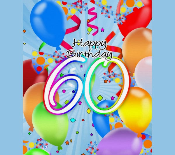 -Funny 60Th Birthday Card