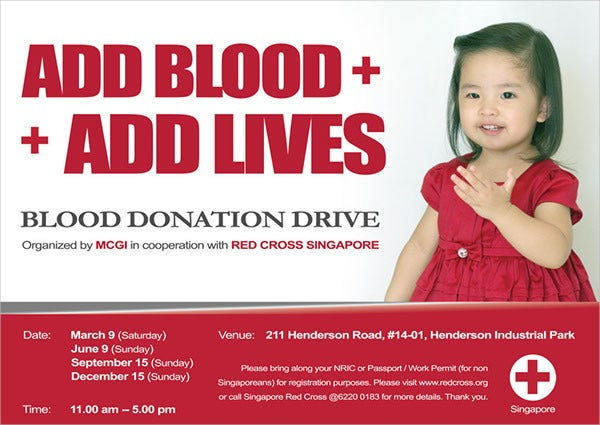 Blood Donation Flyer  Donation Flyer Template
