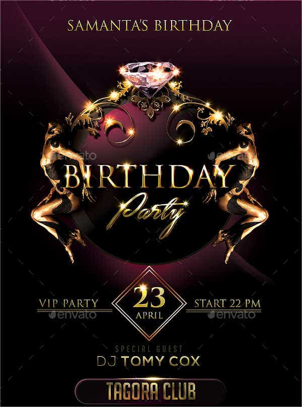 birthday-party-flyer
