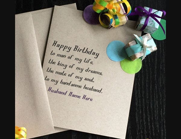 -Birthday Card Messages For Husband