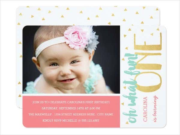 baby birthday invitation card3