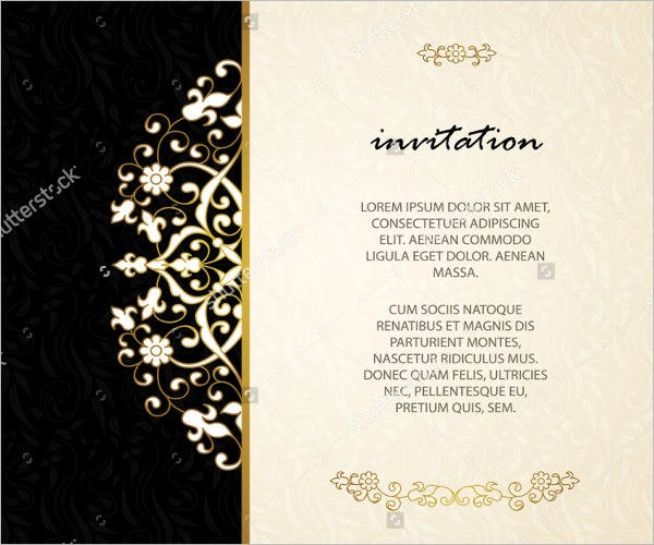 66 invitation card designs free premium templates corporate anniversary invitation card stopboris Image collections