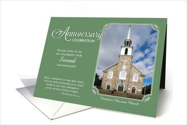 Invitation cards in psd 83 free psd vector ai eps format church anniversary invitation card stopboris