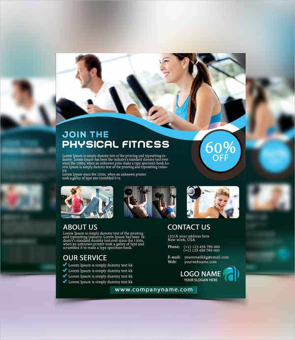 physical fitness flyer