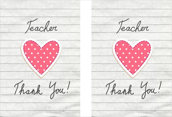 printable thank you cards free sample example format free