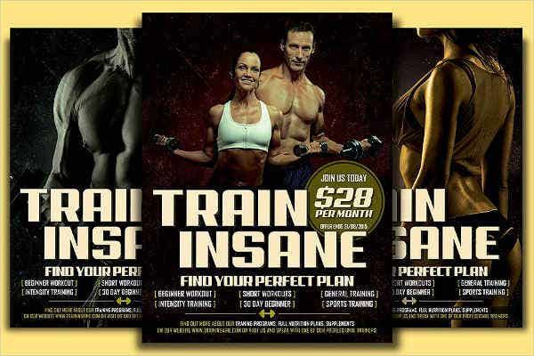 fitness-training-flyer
