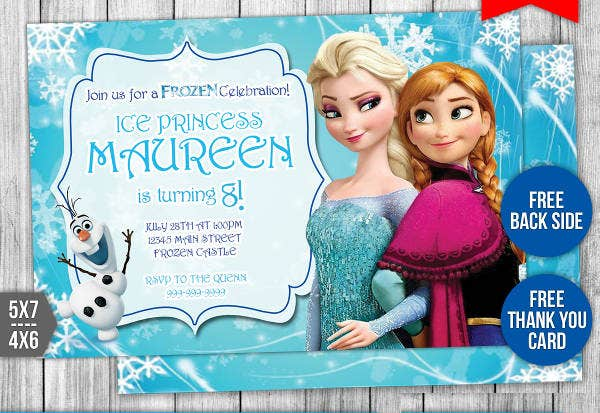 -Disney Themed Birthday Card