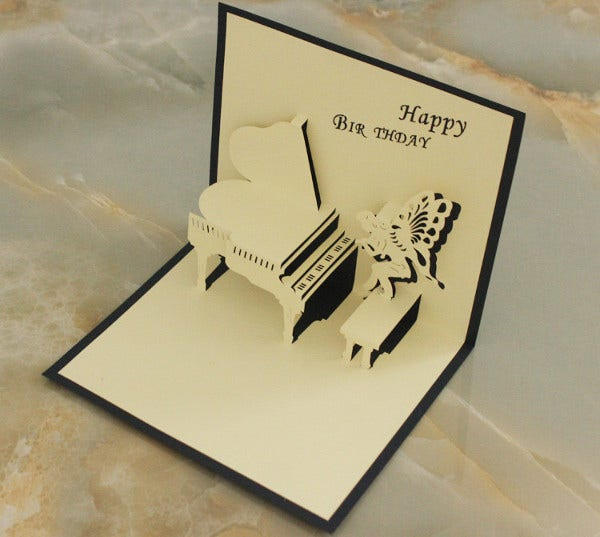 -Diy Pop Up Birthday Card