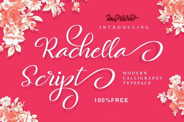rachella-script-font