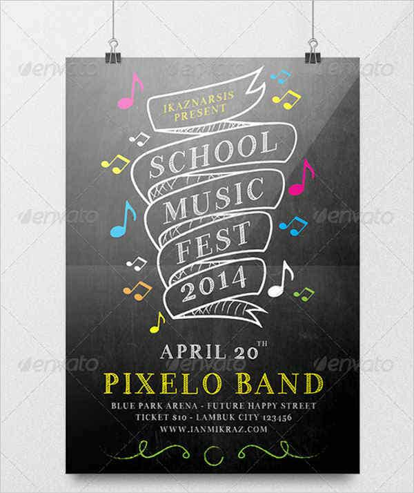 music-school-flyer