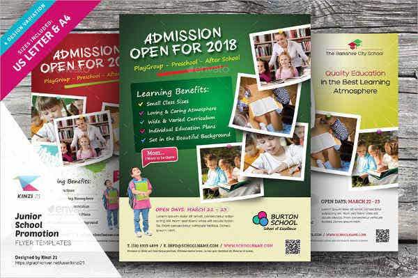 primary school flyer